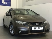 USED 2013 63 HONDA CIVIC 1.8 I-VTEC EX 5d 140 BHP Lovely Low Mileage Honda Civic Petrol 1.8 i-VTEC  With A Full Honda History And Amazing The  EX Specification, Rare To the Market With All These