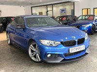 USED 2014 14 BMW 4 SERIES GRAN COUPE 2.0 420D M SPORT GRAN COUPE 4d AUTO 181 BHP BM PERFORMANCE STYLING+SAT NAV