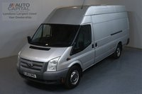 USED 2013 63 FORD TRANSIT 2.2 350 RWD L4 H3 XLWB 124 BHP  REAR PARKING SENSORS