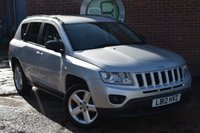 2012 JEEP COMPASS 2.4 LIMITED 5d AUTO 168 BHP £6990.00