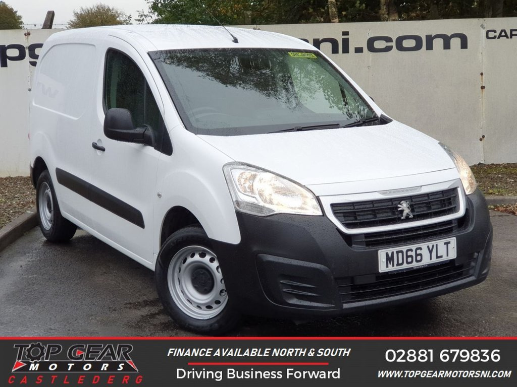 USED 2017 66 PEUGEOT PARTNER BLUE HDI S L1 1.6 100 BHP **OVER 90 VANS IN STOCK**