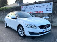 USED 2015 65 VOLVO S60 2.0 D3 BUSINESS EDITION 4d 148 BHP 1 OWNER+FULL MAIN DEALER SERVICE HISTORY+CLIMATE CONTROL+REAR PARKING AID