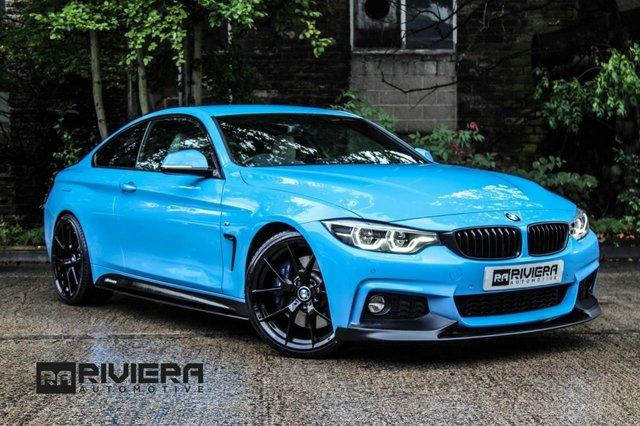 2017 17 BMW 4 SERIES 3.0 440I M SPORT 2d 322 BHP