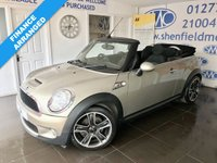 2010 MINI CONVERTIBLE 1.6 COOPER S 2d 184 BHP £SOLD