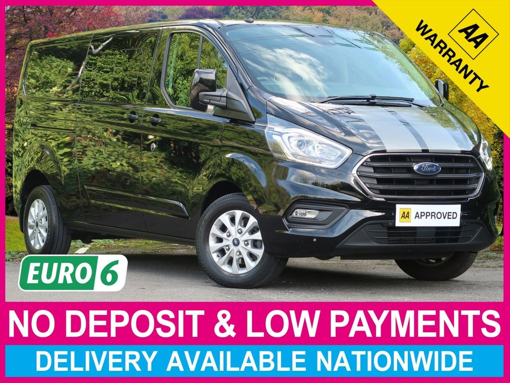 USED 2019 68 FORD TRANSIT CUSTOM 2.0 EcoBlue LIMITED LWB 6 SEAT COMBI VAN L2 320 130BHP NEW SHAPE LIMITED LWB CREWCAB