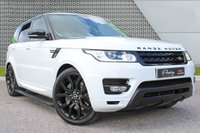 """USED 2015 65 LAND ROVER RANGE ROVER SPORT 3.0 SDV6 HSE 5d AUTO 306 BHP **AUTOBIOGRAPHY PACK/22"""" ALLOYS**"""
