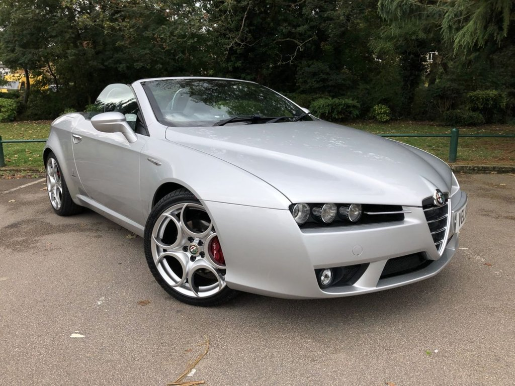 USED 2010 10 ALFA ROMEO SPIDER 2.2 JTS AUTOMATIC ..UK WIDE DELIVERY AVAILABLE..
