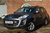 USED 2007 57 PEUGEOT 4007 2.2 SE HDI 5d 155 BHP Part ex to clear