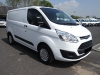 USED 2016 66 FORD TRANSIT CUSTOM 270 TREND L1 SWB 2.2 TDCI 125 BHP Popular Higher Specification Trend Model Direct from Leasing Company With Low Mileage And Full Service History!