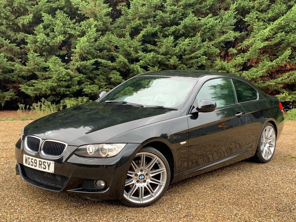 USED 2009 59 BMW 3 SERIES 2.0L 320D M SPORT 2d 175 BHP