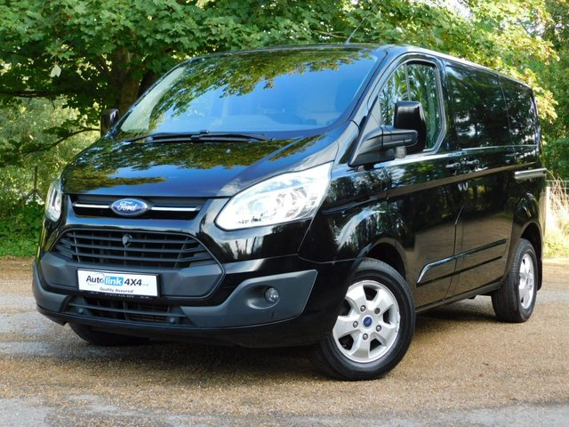 USED 2016 16 FORD TRANSIT CUSTOM 2.2 270 LIMITED LR P/V 124 BHP 1-Owner+A/C+Alloys+Bluetooth