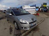 2012 PEUGEOT 5008 1.6 HDI ALLURE 5d 112 BHP £5995.00