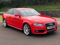 USED 2010 AUDI A4 2.0 TDI S LINE SPECIAL EDITION 4d 168 BHP