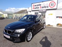 2011 BMW X1 2.0 XDRIVE20D M SPORT 5 DOOR 174 BHP £9995.00