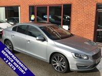 "USED 2014 64 VOLVO S60 2.4 D5 SE LUX NAV 4DOOR AUTO 212 BHP DAB Radio   :   Satellite Navigation   :   USB & AUX Sockets   :   Car Hotspot / WiFi     Cruise Control / Speed Limiter   :   Bluetooth Connectivity   :   Climate Control / Air Con                 Electric Driver Seat     :     Full Black Leather Upholstery     :     Rear Parking Sensors      18"" Alloy Wheels   :   Comprehensive Service History"