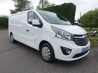 USED 2015 15 VAUXHALL VIVARO 2900 L2 LWB SPORTIVE 1.6 CDTI 120 BHP One Owner With Full Service History, Many Extras Including Air Con, Colour Coded Body & Cruise Control! Very Clean Example! No VAT!!
