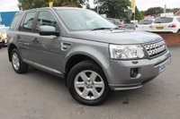 USED 2012 62 LAND ROVER FREELANDER 2.2 SD4 GS 5d AUTO 190 BHP EXCELLENT FULL SERVICE HISTORY - 7 STAMPS - JUST 2 FORMER KEEPERS