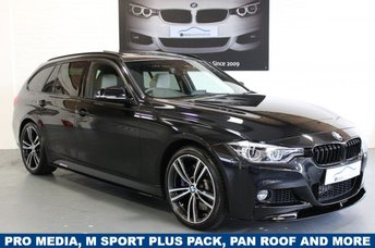 2016 BMW 3 SERIES 335d xDrive M Sport Touring 5dr Step Auto Pro Media £24995.00