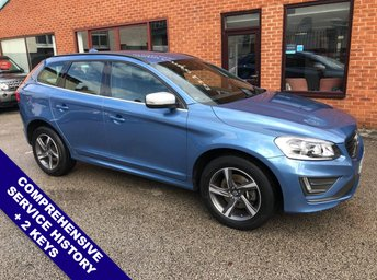 2014 VOLVO XC60 2.0 D4 R-DESIGN 5DOOR 178 BHP £14450.00