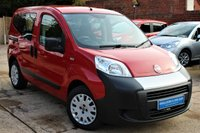 USED 2011 11 FIAT QUBO 1.4 ACTIVE 5d 73 BHP **** LOW MILEAGE * VERY PRACTICAL AND EXCELLENT VALUE FIAT QUBO ****