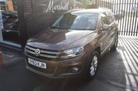 USED 2013 63 VOLKSWAGEN TIGUAN 2.0 MATCH TDI BLUEMOTION TECHNOLOGY 4MOTION 5d 139 BHP 4X4 LOVELY CONDITION THROUGHOUT - 4X4 - LOW MILES - 4 STAMPS TO 44K MILES - SAT NAV - PRIVACY GLASS - HILL HOLD