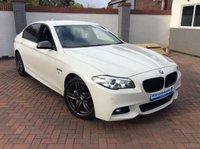 USED 2015 65 BMW 5 SERIES 3.0 535D M SPORT 4d AUTO 309 BHP