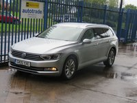USED 2015 15 VOLKSWAGEN PASSAT 2.0 SE BUSINESS TDI BLUEMOTION TECH Estate Sat nav Bluetooth & audio Cruise DAB Finance arranged Part exchange available Open 7 days