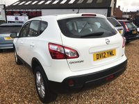 USED 2012 12 NISSAN QASHQAI 1.6 ACENTA IS DCIS/S 5d 130 BHP FULL SERVICE HISTORY: