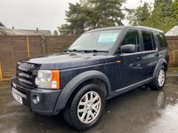 USED 2007 07 LAND ROVER DISCOVERY 3 2.7 TDV6 XS AUTO 188 BHP