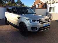 USED 2013 63 LAND ROVER RANGE ROVER SPORT 3.0 SDV6 HSE 5d AUTO 288 BHP