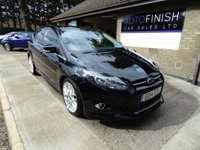 USED 2014 14 FORD FOCUS 1.6 ZETEC S TDCI 5d 113 BHP * FULL SERVICE HISTORY * 1 PRIVATE KEEPER FROM NEW * SAT-NAV * DAB RADIO * £20 ROAD TAX *