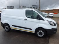 2014 FORD TRANSIT CUSTOM 2.2 310 LOW ROOF, 99 BHP [EURO 5] £8995.00
