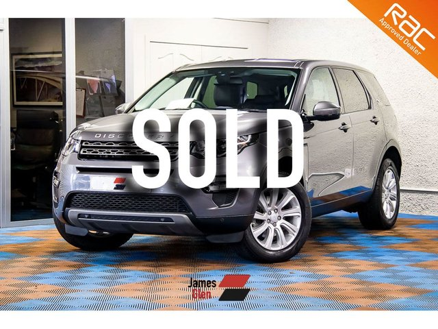 USED 2016 16 LAND ROVER DISCOVERY SPORT 2.0 TD4 SE TECH 5d 180 BHP Two Owners | First Service Complete
