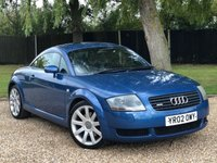 USED 2002 02 AUDI TT 1.8 QUATTRO 3d 221 BHP TRADE PART EXCHANGE TO CLEAR