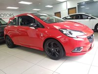 USED 2015 15 VAUXHALL CORSA 1.4 LIMITED EDITION 3d 89 BHP+VXR BODY STYLING KIT+BLACK ROOF+BLACK ALLOYS+