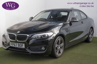 USED 2017 67 BMW 2 SERIES 2.0 220D SPORT 2d 188 BHP
