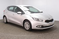 USED 2014 14 KIA CEED 1.4 CRDI 1 5DR 89 BHP FULL SERVICE HISTORY + £20 12 MONTHS ROAD TAX + BLUETOOTH + MULTI FUNCTION WHEEL + AIR CONDITIONING + RADIO/CD/AUX/USB + ELECTRIC WINDOWS + ELECTRIC + MIRRORS