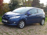USED 2010 10 FORD FIESTA 1.2 ZETEC 3d 81 BHP www.suffolkcarcentre.co.uk - Located at Ilketshall