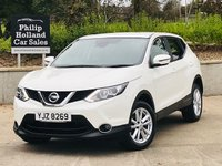 USED 2016 NISSAN QASHQAI 1.5 DCI ACENTA SMART VISION 5d 108 BHP Front / Rear parking sensors