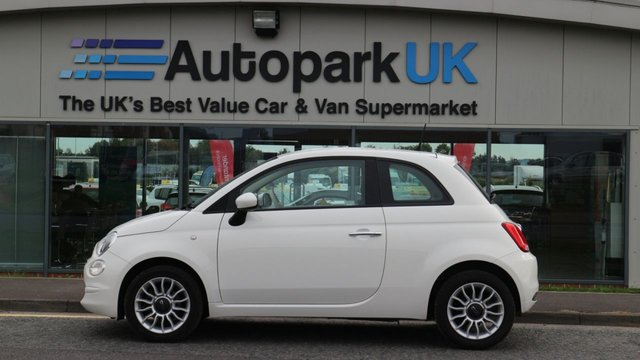 USED 2016 66 FIAT 500 1.2 POP STAR 3d 69 BHP LOW DEPOSIT OR NO DEPOSIT FINANCE AVAILABLE