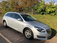 USED 2015 64 VAUXHALL INSIGNIA 2.0 DESIGN NAV CDTI ECOFLEX S/S 5d 138 BHP **NEW MOT**£20 A YEAR ROAD FUND**GREAT SPEC - WITH LOTS OF HIDDEN GEMS**