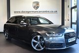 """USED 2016 65 AUDI A6 AVANT 2.0 AVANT TDI ULTRA BLACK EDITION 5DR AUTO 188 BHP full service history Finished in a stunning daytona metallic grey styled with 20"""" alloys. Upon opening the drivers door you are presented with full leather interior, full service history, satellite navigation, bluetooth,cruise control, dab radio, BOSE surround sound, climate control, heated mirrors, usb/aux port, parking sensors"""