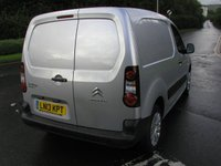 USED 2013 13 CITROEN BERLINGO 1.6 625 ENTERPRISE L1 HDI 74 BHP VAN - NO VAT 3 seater, SATNAV, Air con, 53000 miles, Service History