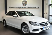 "USED 2016 65 MERCEDES-BENZ C CLASS 2.1 C220 D SE EXECUTIVE 4DR AUTO 170 BHP full service history - £20 road tax Finished in a stunning polar white styled with 16"" alloys. Upon opening the drivers door you are presented with full leather interior, full service history, £20 road tax, satellite navigation, bluetooth, rear -view camera, active park assist, cruise control, touchpad with rotary pushbutton, dab radio, privacy glass, heated seats, parking package, lumbar support"
