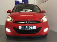 USED 2013 13 HYUNDAI I10 1.2 ACTIVE 5d 85 BHP Lovely Low Mileage Hyundai i10 1.2 In Tomato Red Only 55,800 Miles With A Full Hyundai Service History, £20 Tax, Not Expensive To Run With A Decent Spec Too