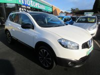 USED 2013 13 NISSAN QASHQAI 1.6 DCI 360 IS 5d 130 BHP ** 01543 379066 ** JUST ARRIVED ** FULL SERVICE HISTORY **
