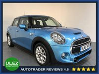 USED 2016 66 MINI HATCH COOPER 2.0 COOPER S 5d 189 BHP FULL HISTORY - 1 OWNER - SAT NAV - PAN ROOF - HLAF LEATHER - AIR CON - BLUETOOTH - DAB - CRUISE
