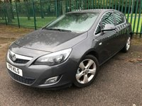 USED 2011 11 VAUXHALL ASTRA 1.7 SRI CDTI 5d 123 BHP LEATHER MOT 08/20 GREY MET WITH BLACK LEATHER TRIM. CRUISE CONTROL. 17 INCH ALLOYS. COLOUR CODED TRIMS. PARKING SENSORS. AIR CON. R/CD PLAYER. MOT 08/20. AGE/MILEAGE RELATED SALE. P/X CLEARANCE CENTRE LS24 8EJ TEL 01937 849492 OPTION 4