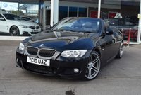 USED 2010 10 BMW 3 SERIES 3.0 330D M SPORT 2d 242 BHP FINANCE TODAY WITH NO DEPOSIT