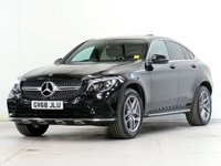 USED 2018 68 MERCEDES-BENZ GLC-CLASS 2.1 GLC 250 D 4MATIC AMG Line Premium Plus 4d Auto 201 bhp [VAT Q] LANE-TRACK 360CAM DYN-LED STEP